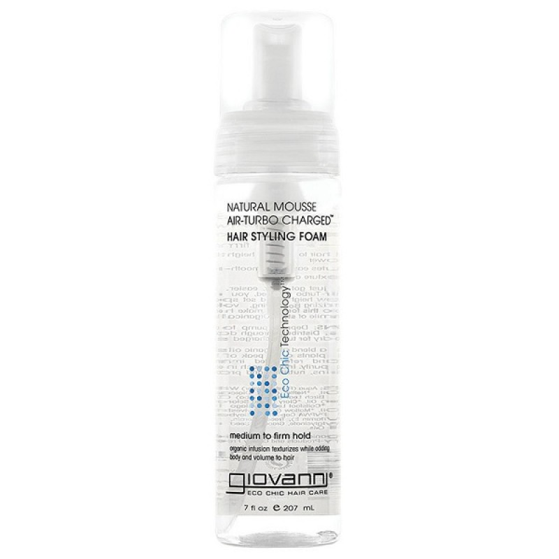 NATURAL MOUSSE AIR-TURBO CHARGED (S:207ml)