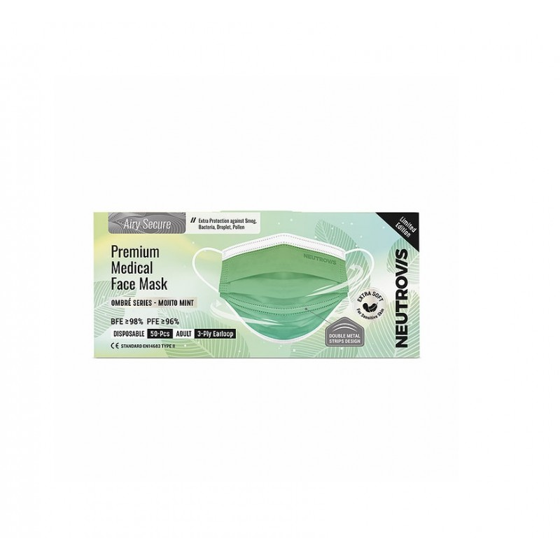 PRE. MED. F.MASK AIRY SECURE (S:50S C:MOJITO MINT)